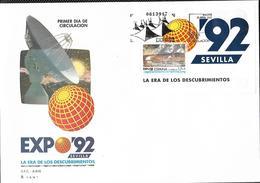 ESPAÑA 1992 - FDC