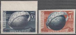 Russia USSR 1949 Mi# 1383 B -1384 B UPU MNH * * Imperf. - 1923-1991 URSS