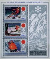 Ref. 73450 * NEW *  - BURUNDI . 1972. MEDALS OF THE XI WINTER OLYMPIC GAMES. SAPPORO 1972. 11 JUEGOS OLIMPICOS DE INVIER - Burundi