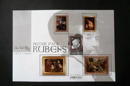 BL 262** - Neuf – 2018 – Maitres De La Peinture -  Rubens 2018  - Bloc De 5 Timbres         COB 4765/4769 - Blocs 1962-....