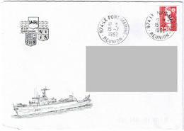BSM Garonne - Marine La Réunion. - Scheepspost