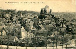 CPA - HERISSON - VUE GENERALE DE LA VILLE ET DU CHATEAU - France