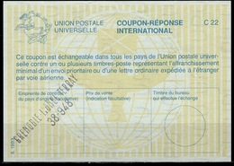 FRANCE La28International Reply Coupon Reponse Antwortschein IAS IRC oGRENOBLE LIONEL TERRAY 38-948 - Coupons-réponse