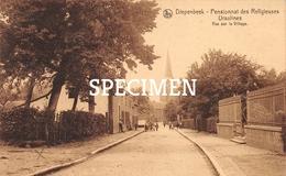 Pensionnat Des Religieuses Ursulines - Vue Sur Le Village  - Diepenbeek - Diepenbeek