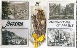 04 - Souvenir De Moustiers St Marie Avec Un Brin De Lavande - France