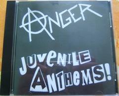 CD  PUNK - ANGER / JUVENILE ANTHEMS ! - Punk