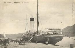 """CORSE - BASTIA - A Quai, Le  """"VILLE DE MARSEILLE"""", Navire De La Ligne Marseille/Bastia - Bastia"""