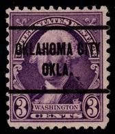 """USA Precancel Vorausentwertung Preo, """"OKLAHOMA CITY"""" (OKLA). - Preobliterati"""