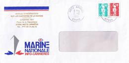 Marine Nationale - Bureau D'information Sur Les Carrières De La Marine. - Scheepspost