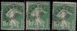 France Préoblitérés 1922. ~ Pr 51 Par 7  - 10 C. Type Semeuse - Préoblitérés