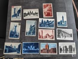 BRAUN  LOT 13 CARTE POSTALE CP PARIS EXPOSITION COLONIALE INTERNATIONALE 1931 TBE - Expositions
