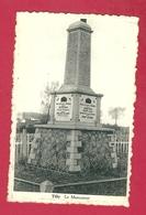 C.P. Tilly = Le  Monument  1914-1918  Et  1940-1945 - Villers-la-Ville