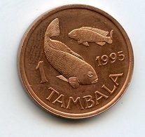 Malawi 1995 Year. 1 Tambala Fauna Fish - Malawi