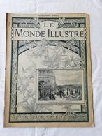 LE MONDE ILLUSTRE - ANNEE 1900 / Les Boers à Sainte Hélène / Cerf Volant Hargrave / Exposition 1900 - Revues Anciennes - Avant 1900