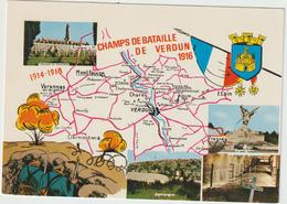 Dav:  Meuse :  Champs De  Bataille , Verdun , Charny , Etain , Varennes , Monffaucon ....... Guerre , Soldat - Sonstige Gemeinden