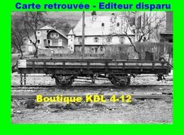 BVA 646-07 - Wagon Plat N° 2414 En Gare - BONNE - Haute Savoie - CEN - Bonne