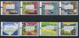Svizzera Bobine, Serie Completa Nuova (**) - Automatic Stamps
