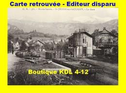 BVA 646-08 - Vue D'ensemble De La Gare -SAINT-JEOIRE EN FAUCIGNY - Haute Savoie - CEN - Reproduction - Saint-Jeoire