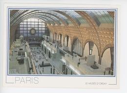 Paris Ancienne Gare Devenue Musée D'orsay (cp Vierge) - Musées