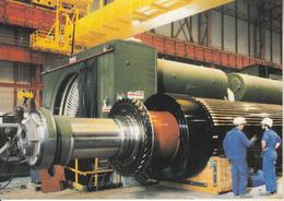 CENTRE  NUCLÉAIRE  DE  PENLY -  Stator Et Rotor Alternateur Alsthom - Frankreich