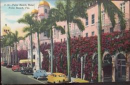 Cpa, C10, Palm Beach Hotel, Palm Beach, Florida, éd F.E.E News Co, West Palm Beach, Non écrite, Toilée - Palm Beach