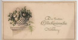 (10413) Glückwunschkarte Zur Verlobung Vor 1945 - Hochzeiten