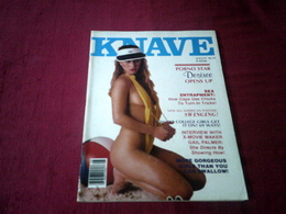 KNAVE  ° AUGUST 1980   VOLUME 5  N° 4 - Men's
