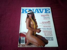 KNAVE  ° AUGUST 1980   VOLUME 5  N° 4 - Männer
