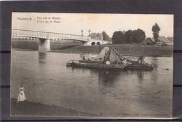 Maeseyck  -- Vue Sur La Meuse ( Met Baggerboot ) - Maaseik