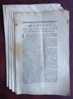 Mémoire De La Nouvelle Salle De Spectacle De Montpellier (Opéra Comédie) . Jacques Philippe Mareschal . Justice . 1754 . - Documents Historiques