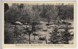 (12606) AK Bad Tschachwitz, Parkrestauration A. Kurhaus 1940er - Sudeten