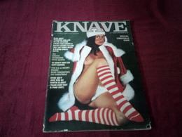 KNAVE  °  DECEMBER 1976   VOLUME 1  N° 7 - Men's