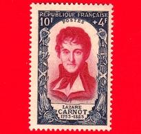 Nuovo - MNH - FRANCIA - 1950 - Rivoluzione Del 1789 - Lazare Carnot (1753-1823) - 10+4 - Francia