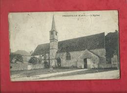 CPA  En Très Mauvais état-  Prasville  -  ( E.-et-L.) - L'église - Francia
