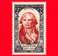 Nuovo - MNH - FRANCIA - 1950 - Rivoluzione Del 1789 - Danton (1759-1794) - 12+5 - Francia