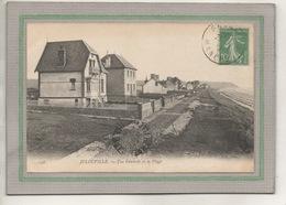 CPA - (50) JULOUVILLE - Aspect Des Villas Du Bord De Plage En 1912 - Other Municipalities
