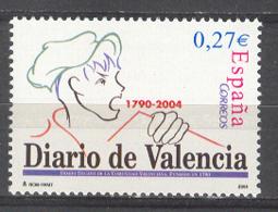 Spain 2004 - Cent Diario De Valencia Ed 4094  (**) - 2001-10 Nuovi