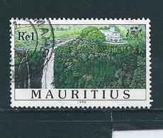 N° 913 Cascade Balfour Timbre Maurice, île(1998)  Oblitéré - Maurice (1968-...)