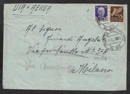 1943  ITALIE OCCUPATION GRECE GREECE - VIA AEREA - POSTA MILITARE - Military Mail (PM)