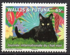Wallis Et Futuna 2019 - Chats, Journée Internationale Du Chat Noir - Neuf // Mnh - Wallis-Et-Futuna