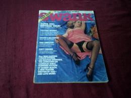 SWANK   OCTOBER   1977 VOLUME 24 N° 9 - Männer