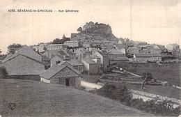 C P A 12] Aveyron SEVERAC LE CHATEAU VUE GENERALE - Francia