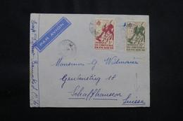 A.O.F. - Enveloppe De Bamako Pour La Suisse, Affranchissement Plaisant - L 56767 - Storia Postale