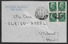 1942 ITALIE OCCUPATION GRECE GREECE 25c(4) - POSTA MILITARE  - POSTA AEREA - P.M 23 - Military Mail (PM)