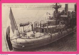 CPA (Réf: Z 2504) TOULON (83 VAR) Revue Navale 1911 Passée Par Le Président FALLIÈRES Sur Le MASSEN - Toulon