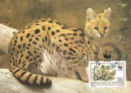 1992 - BURUNDI - Serval - Burundi