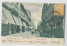 MONTEVIDEO: Calle 25 De Mayo - Edit. Adreher Hnos - Uruguay