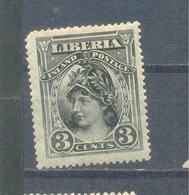 Liberia 1903  MLH - Liberia