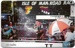 Isle Of Man - Chip - TT Racers 2000 - Ian Simpson The Winner - 33U, 2000, 10.000ex, Used - Man (Eiland)