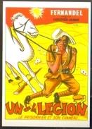 Carte Postale (cinéma Affiche Film) Un De La Légion (Fernandel) (chameau) - Affiches Sur Carte